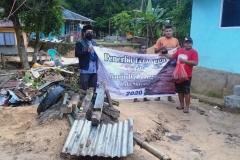 Bantuan Korban Banjir dan Longsor Kota Sorong