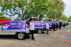 Pelepasan Tim CSR Erlangga Semarang (2)
