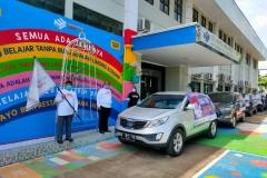 Pelepasan Tim CSR Erlangga Semarang