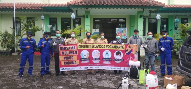 Begini Upaya Penerbit Erlangga Lawan COVID-19 #Indonesia Pasti Bisa!