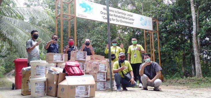 Solidaritas Erlangga Peduli Orangutan