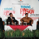 "Launching Buku dan Talkshow ""Winning with Passion"""