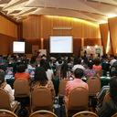 Larutnya peserta di dalam materi - materi yang disampaikan oleh Dr. Jiang Aoshuang di Hotel Ciputra, Jakarta