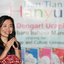 Dr Jiang Aoshuang Narasumber Native dari Minzu University of China