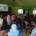 Antusias peserta Mandarin di Lamongan dalam mendengarkan materi yang disampaikan oleh Dr. Jiang Aoshuang