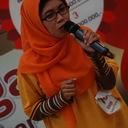 Ibu Nurani Widaningsih finalis TOTY dari Bandungsedang melakukan aksinya di panggung utama Citos, Jakarta