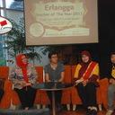 Konferensi Pers Juara I Erlangga Teacher of the Year 2011 jenjang SDMI dan TKPAUD di Chatter Box, Citos, Jakarta