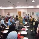 suasana peserta ketika mengikuti workshop