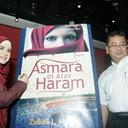 Tanda Tangan untuk Novel Asmara Di Atas Haram.JPG