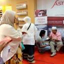 Relaunching Novel Asrama di Atas Haram di Gramedia Balikpapan Plaza
