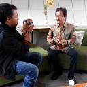 Talkshow buku Petarung politik 2014 dan Profil partai politik peserta pemilu